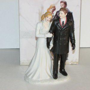 WEDDING CAKE TOPPER NEW WINTER WONDERLAND BRIDAL